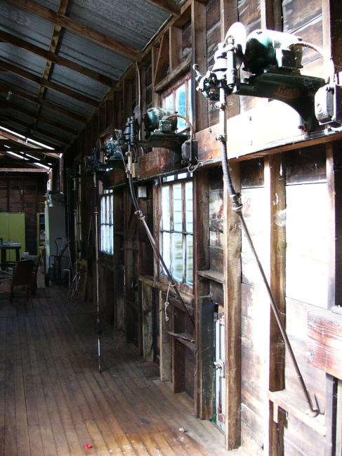 Inside the Woolshed