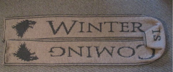 Winter is coming scarf