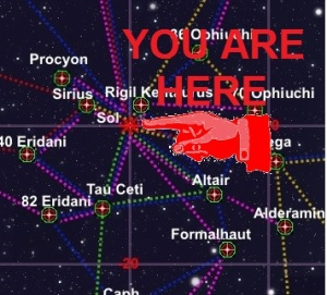 You are here Map thumb
