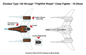 Zhodani Type 125 Sh'zahg 10ton Fighter reduced