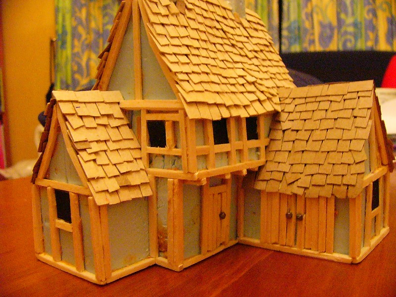 28mm Conflix Style Medieval Houses The Woolshed Wargamer