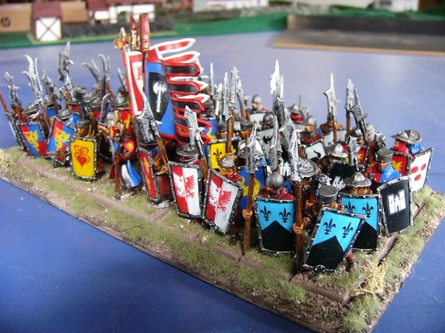 Bretonnian Men at Arms