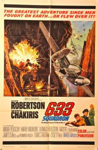 633 Squadron One Sheet