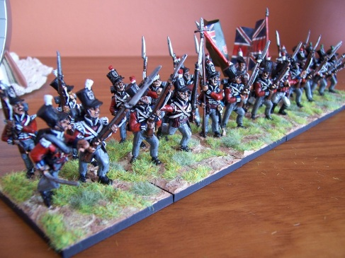 More of my Old Glory 28mm Peninsular British Infantry