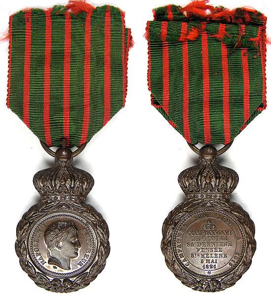 French Napoleon 1st St. Helene Medal 1823 (Maller)