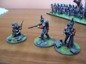 43rd LI skirmishers