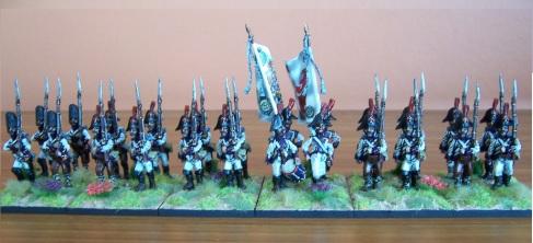 Spanish Napoleonic La Reina Regiment