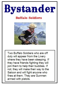 Buffalo Soldier Event Card