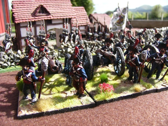 28mm Spanish Artillery: Elite Miniatures