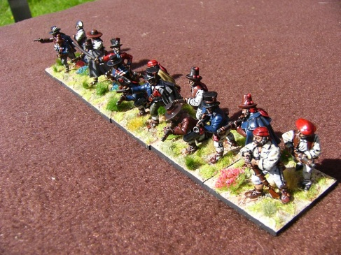 28mm Spanish Guerrilla Band (Front Rank)