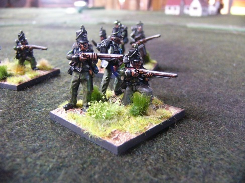 28mm 95th Rifles (Offensive Miniatures)