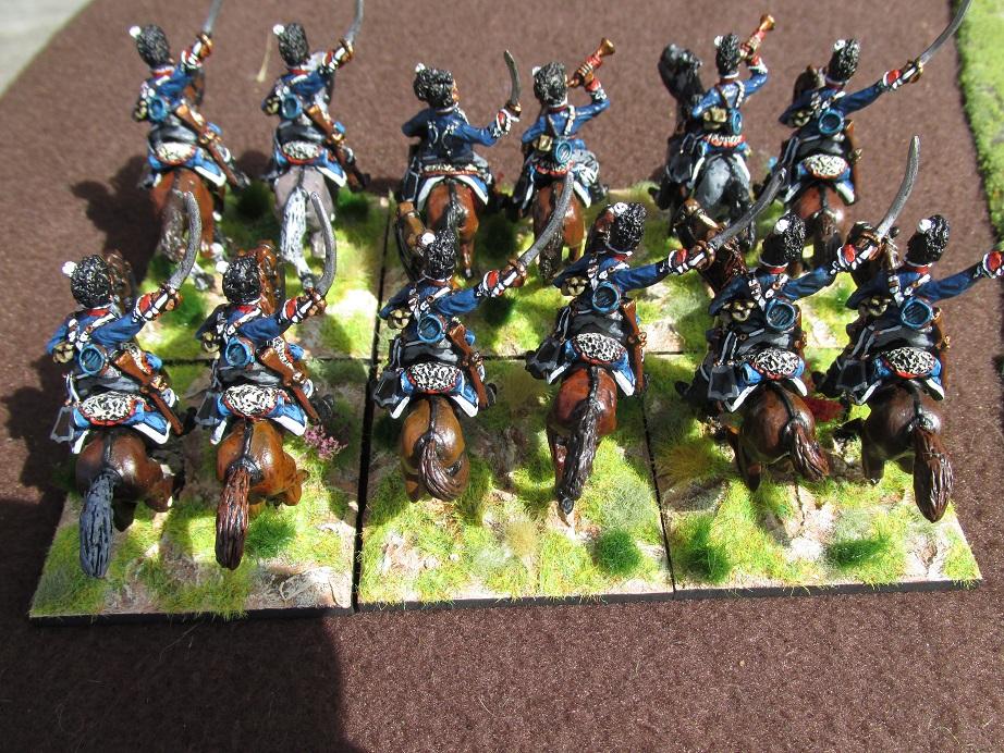 28mm British Light Dragoons (Elite Miniatures) | The