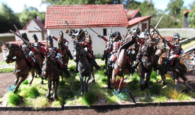 28mm British Dragoons (Elite Miniatures)