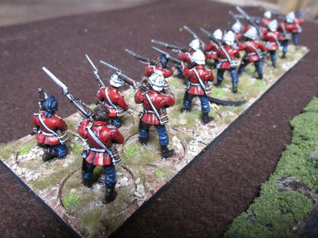 28mm Zulu War British Infantry (Black Tree Designs)