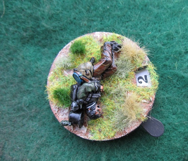 28mm More Casualty Bases (Perry Miniatures)