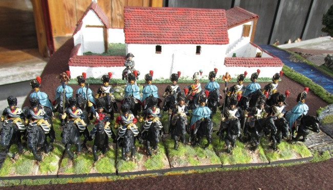 28mm Connoisseur and Hinchliffe French Guard Heavy Cavalry c1984