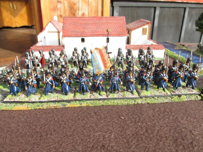 28mm French Old Guard (Victrix and Front Rank)