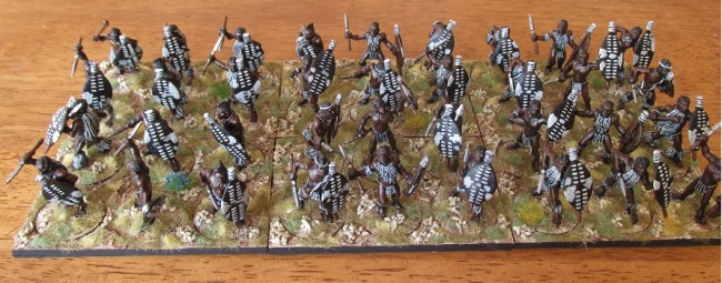 Zulu Wars: iNdluyengwe Regiment (Black Tree Designs)