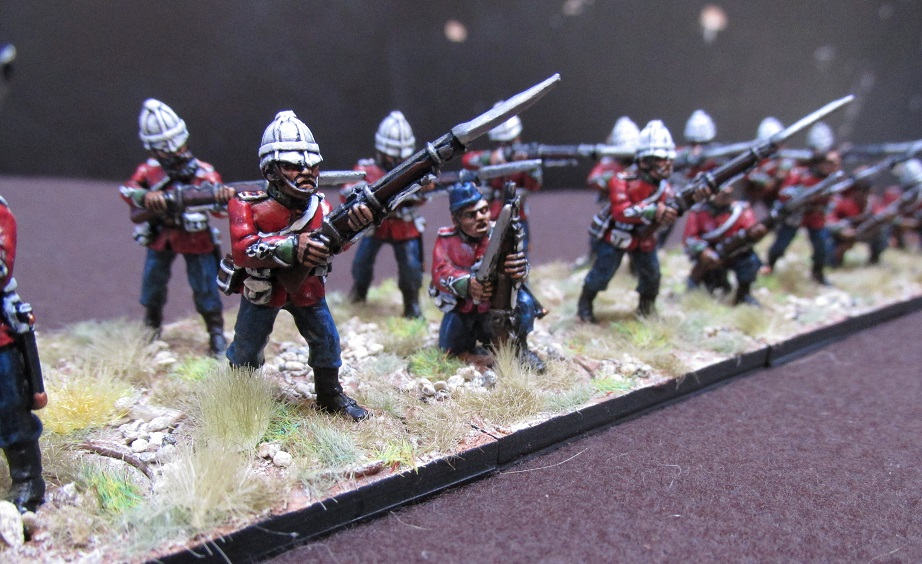 C Company, 1/24th Foot (28mm Black Tree Designs) | The Woolshed Wargamer