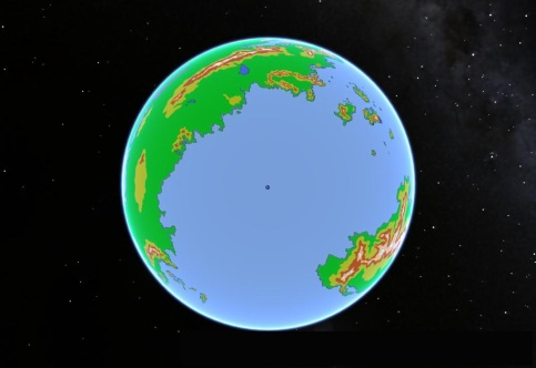 Fantasy Globe North Polar