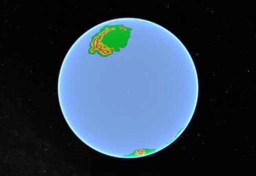 Fantasy Globe South Polar