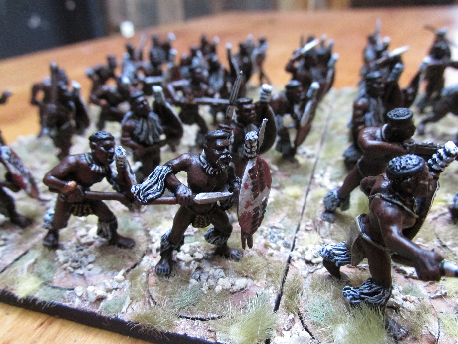 Zulu wars: indlondlo regiment (black tree designs)
