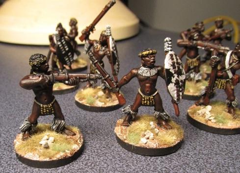 Zulu Skirmishers 1
