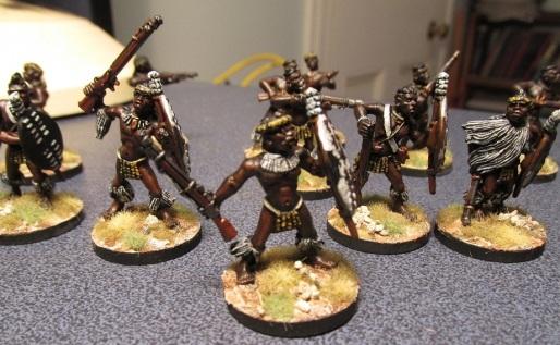 Zulu Skirmishers 2