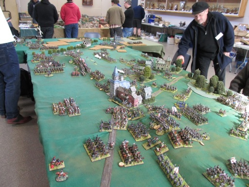 Heavy action along the main French line