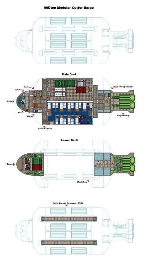 Modular Cutter Hauler In-System MKIIa