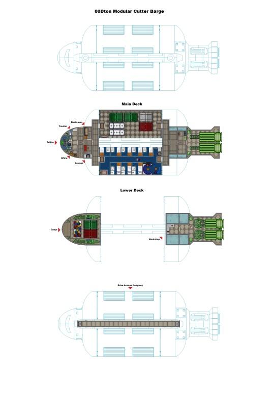 Modular Cutter Hauler In-System