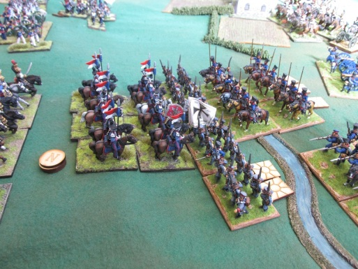 Polish cavalry throws back another Prussian assault