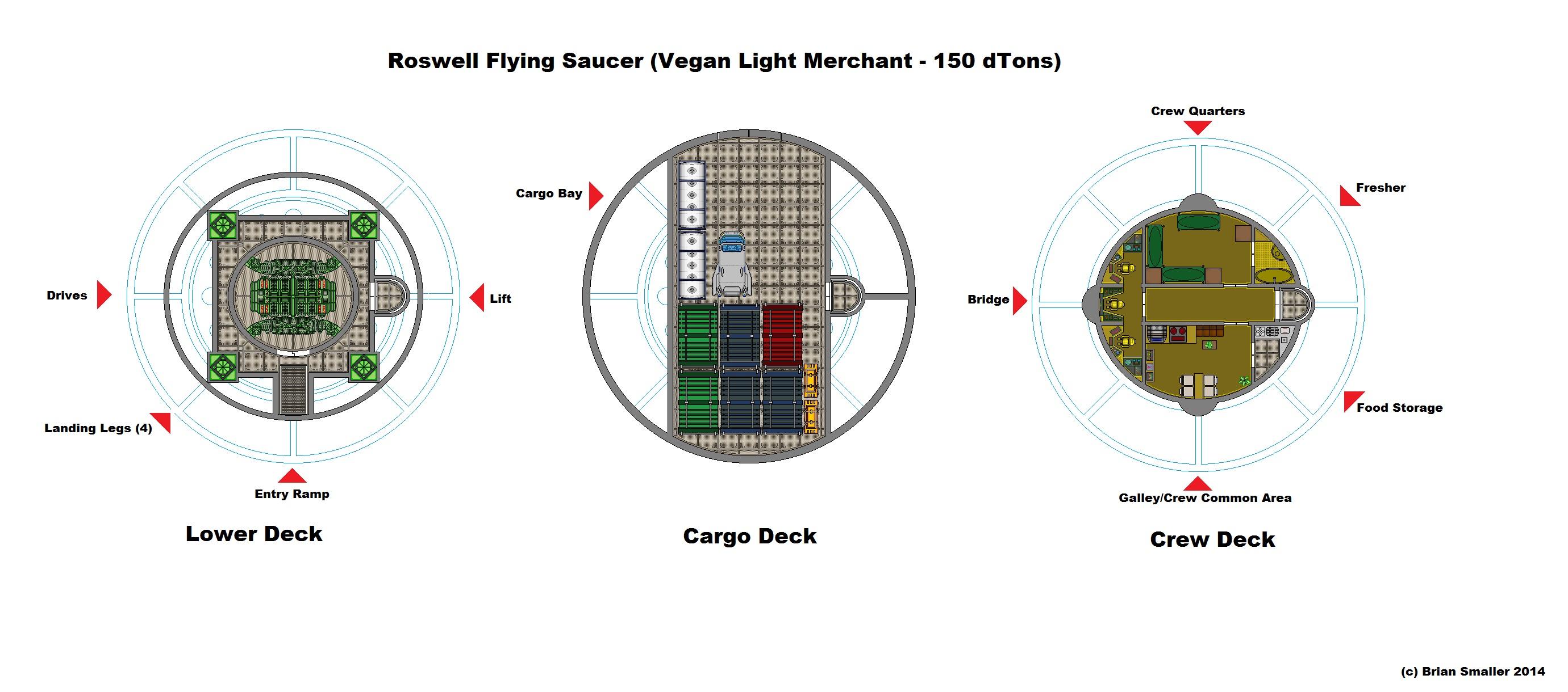 Roswell saucer roswell saucer deckplan