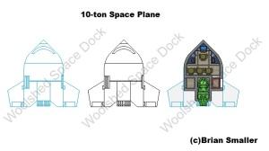 10ton space plane