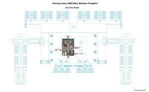 Conway Class Modular Freighter A Deck