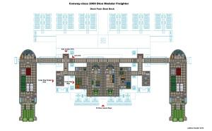 Conway Class Modular Freighter Deck D