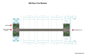 1000 ton Cargo Pod Carrier Fuel Module Internal Named