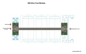1000 ton Cargo Pod Carrier Fuel Module Internal Named