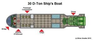 30dton Ships Boat