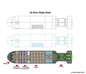 30ton Ships Boat