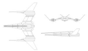 Zhodani Type 125 Sh'zahg 10ton Fighter concept