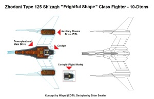 Zhodani Type 125 Sh'zahg 10ton Fighter