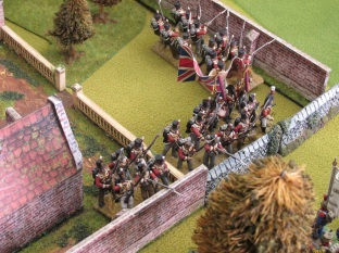 British Guards at Hougemeont