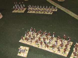 And leave their flank a tempting target for those British Lancers.