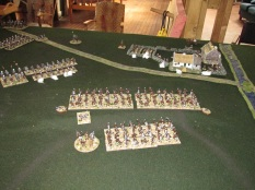 The Zulu left horn looks in trouble – taking fire from the front and cavalry almost on it's flank.