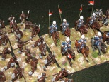 The Zulu take the Lancers in the flank.
