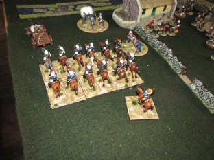 Finally getting orders they understand, the Natal Volunteer Cavalry rushed to help shore up the defence of the Mission. They take up a firing position along the river bank.