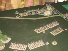 The game ended with the Zulus realising that they would, in all likelihood, not be able to breach the British defence. They retreated off leaving the field in the possession of the British.
