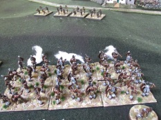 Firing at skirmishers, one dice for shooting…how effective will it be?