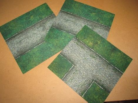 20x20cm Mousepad tiles